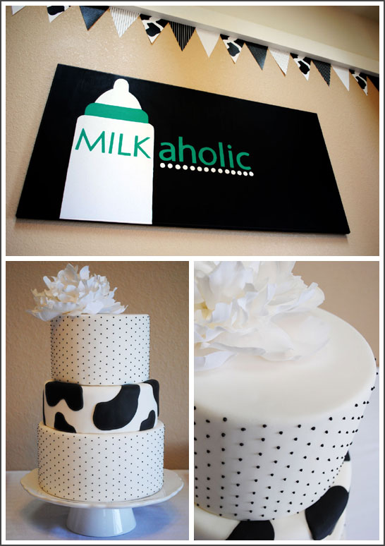 Milkaholic Sip & See Baby Shower