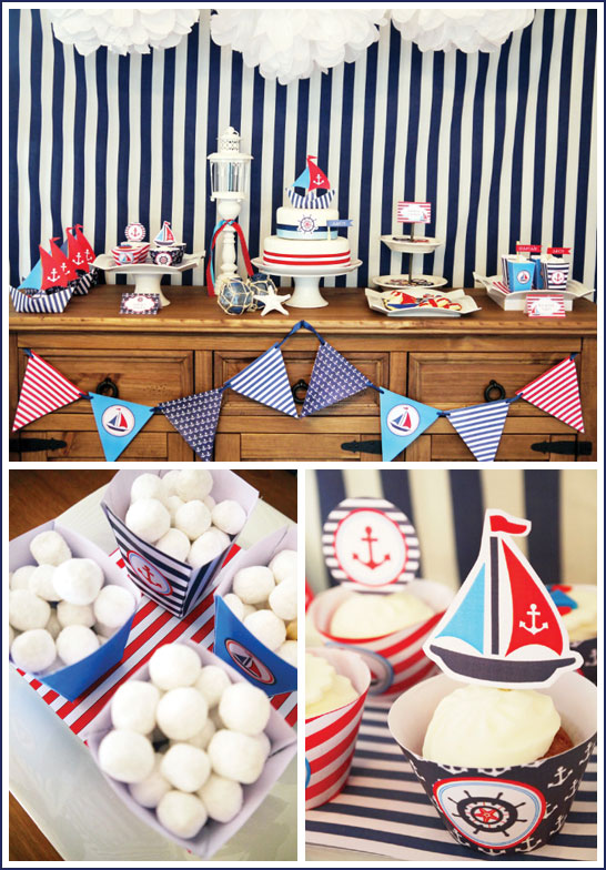 Nautical Party by Bird's Party