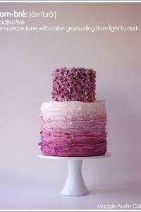 Ombre Cake by Maggie Austin