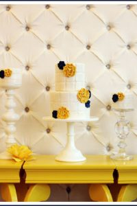 Tufted Fabric Cake by Erica O'Brien