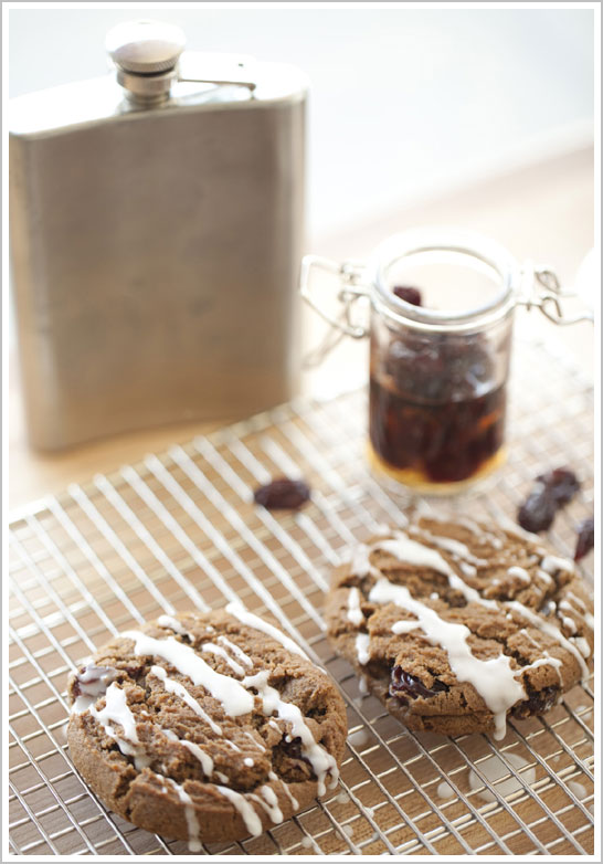 Whiskey Ginger Cookie