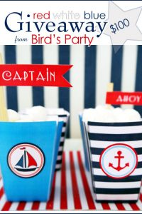 $100 Giveaway to Bird's Party Printables