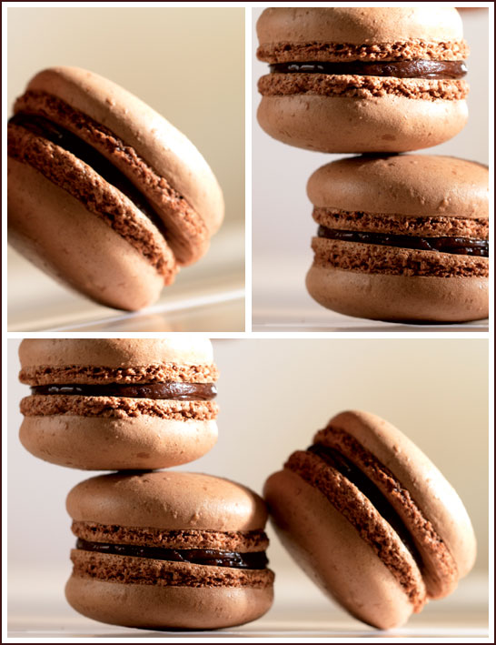 Chocolate Macarons by Barry Callebaut
