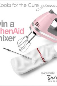 Giveaway: Pink KitchenAid Mixer!