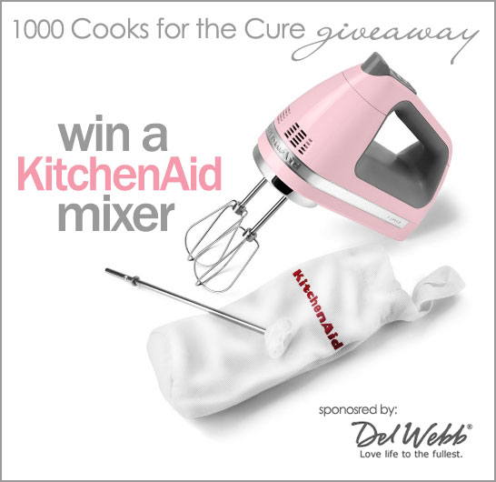 KitchenAid Mixer Giveaway on Half Baked