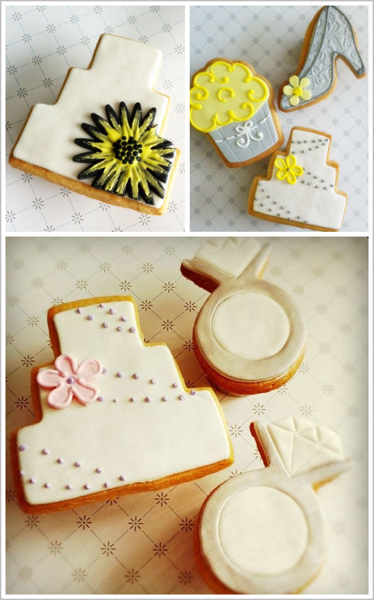 Wedding Cookies by The Sugar Chic
