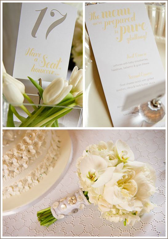 White Eyelet Wedding