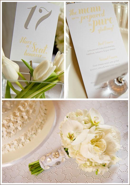 White Eyelet Wedding