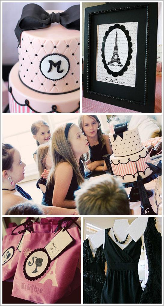 Paris Fashion Birthday Party