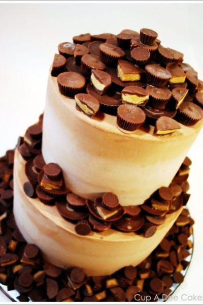 Peanut Butter Addiction Cake