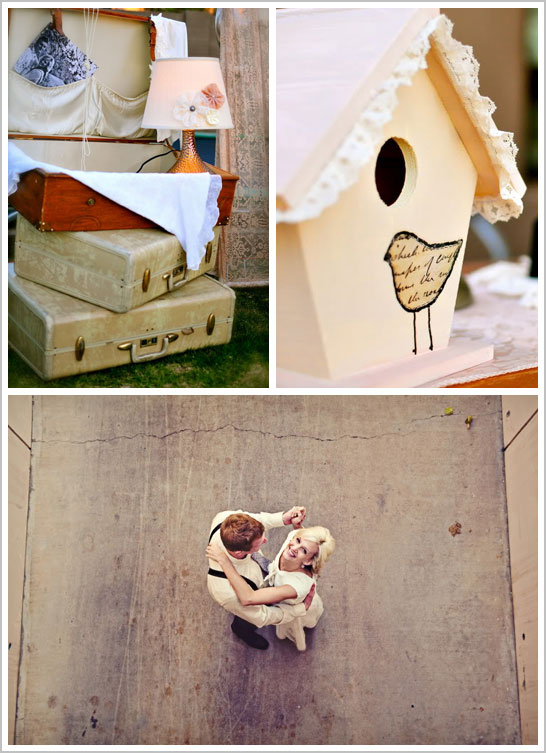 Romantic & Ruffled Wedding