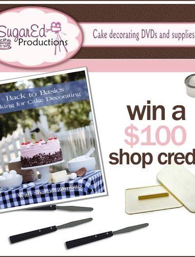 Giveaway: $100 to Sugar Ed Productions