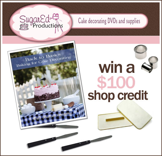 $100 Giveaway to Sugar Ed Productions