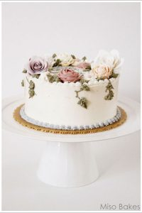 Scrap Buttercream cake by Miso Bakes