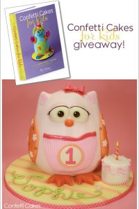 Confetti Cakes for Kids Giveaway