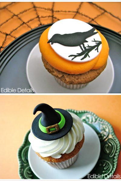 Spook-tacular Halloween Cupcake Toppers
