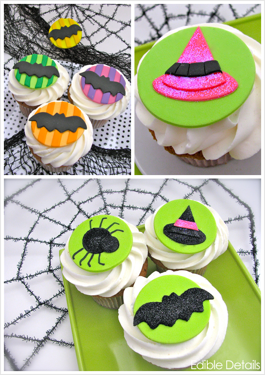 Halloween Cupcake Toppers Ideas Halloween Cupcake Toppers by