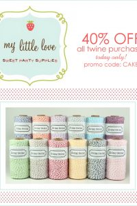 My Little Love Party Supplies