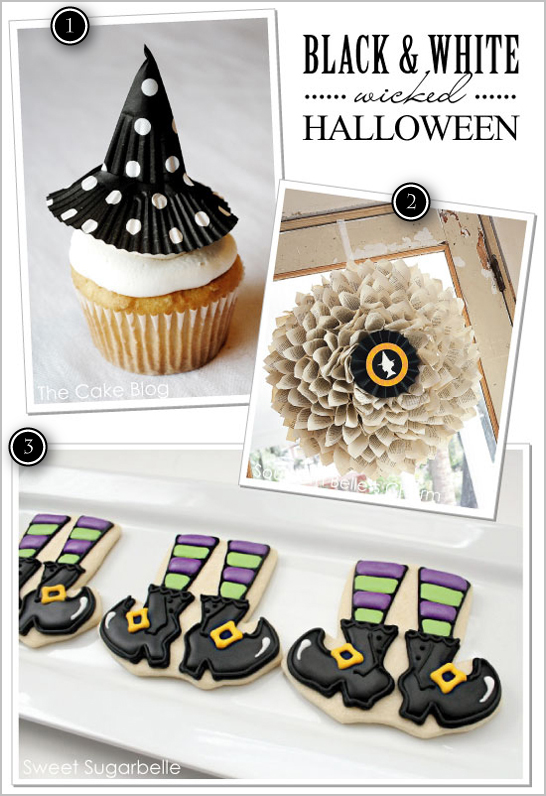 Black & White Wicked Witch Halloween Ideas