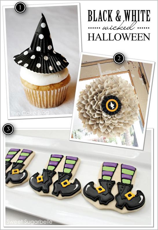 Black & White Wicked Witch Halloween Ideas