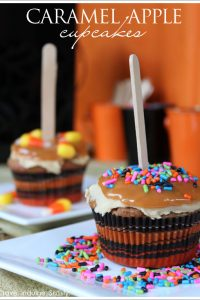 Decorate Your Own - Caramel Apple Cupcakes  |  TheCakeBlog.com