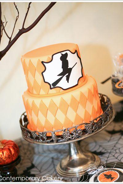Bewitching Halloween Cake