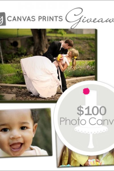 Giveaway: Custom Photo Canvas