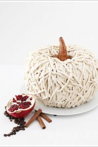 Rusic 3D Pumpkin Cake for Autumn