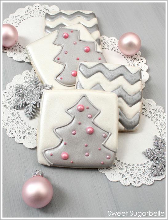 Diy Modern Christmas Cookies The Cake Blog