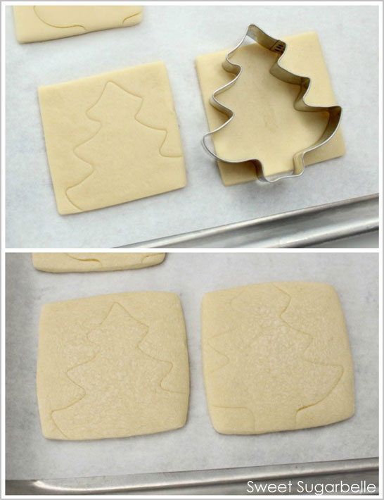 Christmas Tree Cookie Tutorial