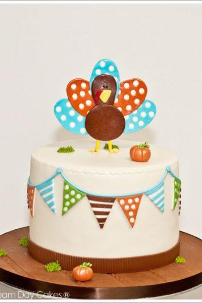 Gobble Gobble Turkey Cake