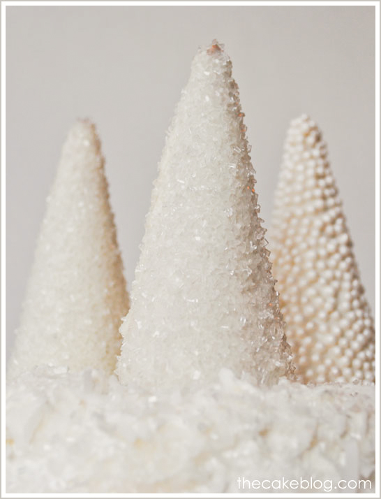 Diy Cone Christmas Trees.Diy Sparkling Christmas Trees The Cake Blog