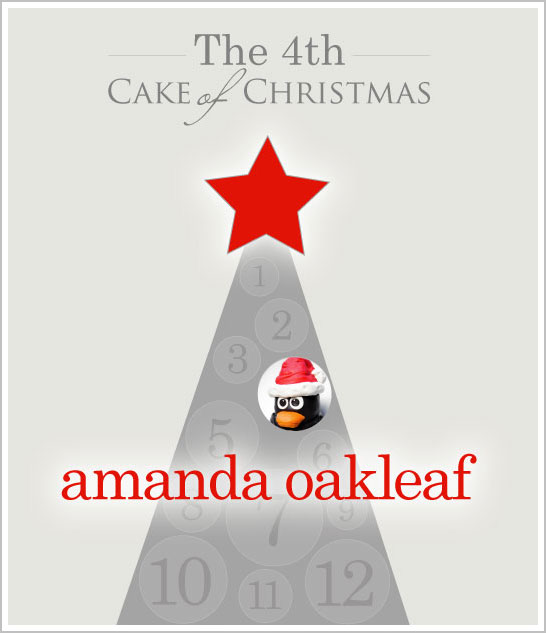Christmas Cake Inspiration on Half Baked