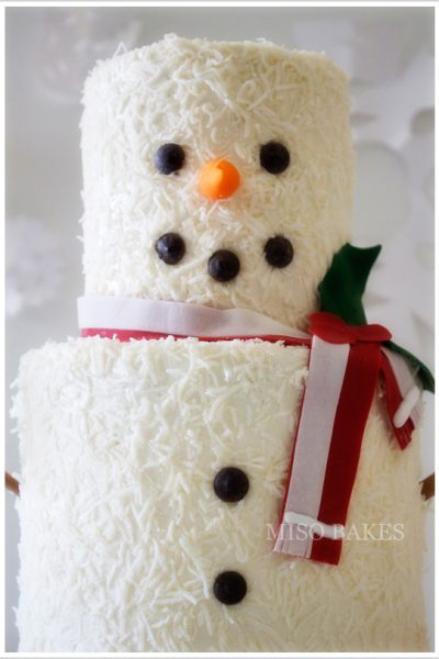 The 7th Cake of Christmas {a DIY}