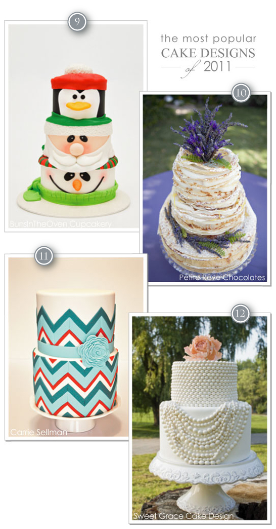 2011 Top Cake Designs on Half Baked - The Cake Blog