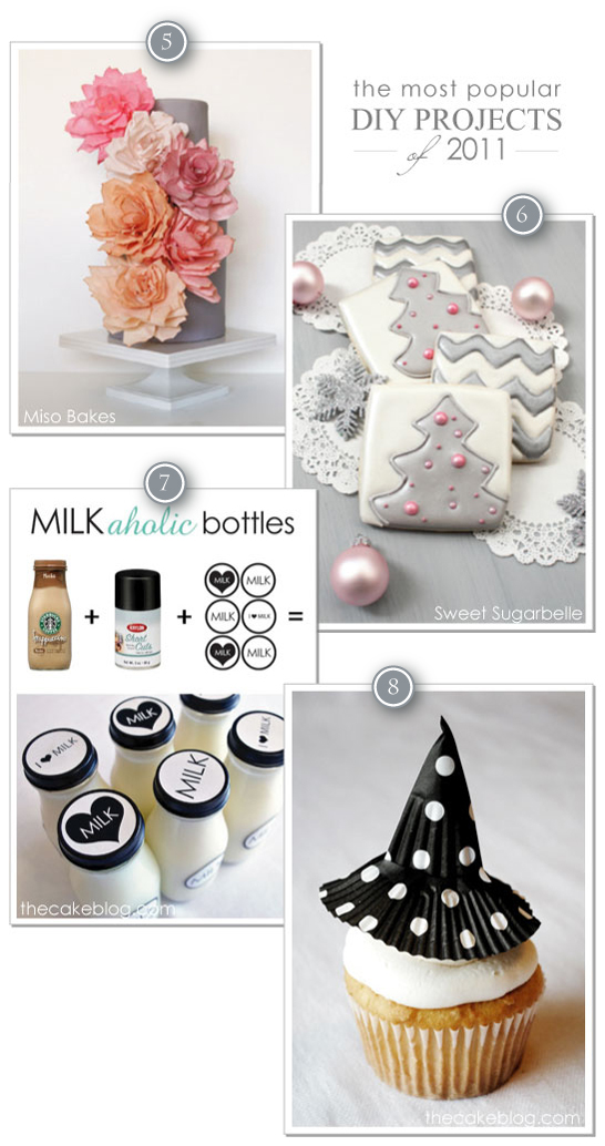 2011 Top DIY Projects on Half Baked - The Cake Blog