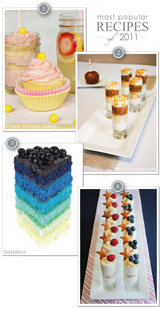 2011 Top Recipes on Half Baked - The Cake Blog