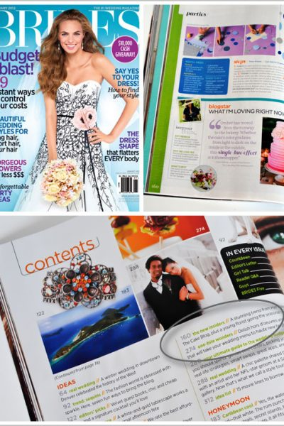 Talking Trends with BRIDES Magazine