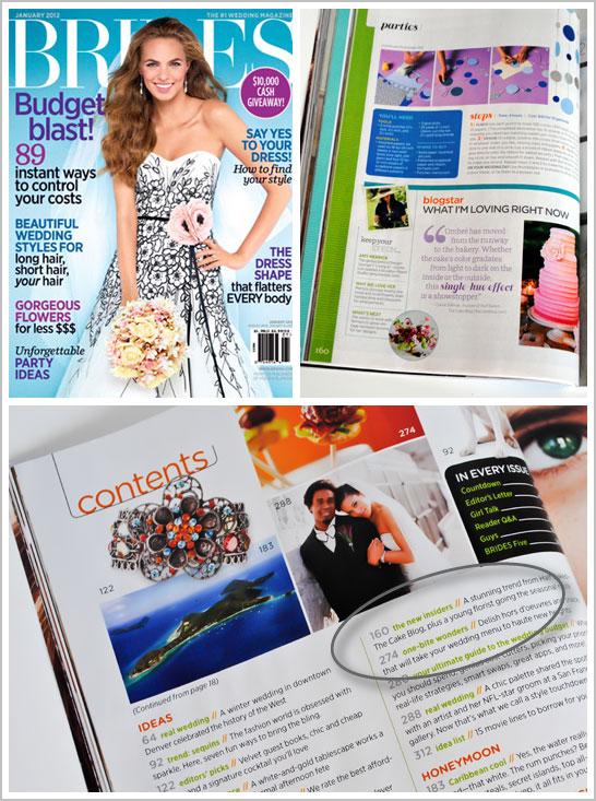 BRIDES Magazine - Blog Star Feature