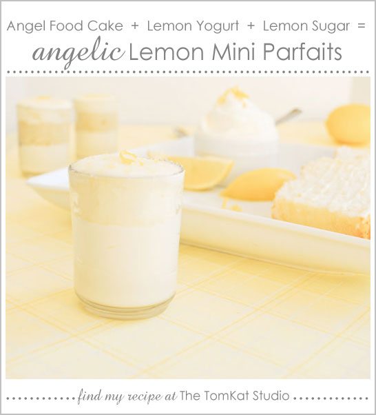 Angelic Lemon Mini Desserts