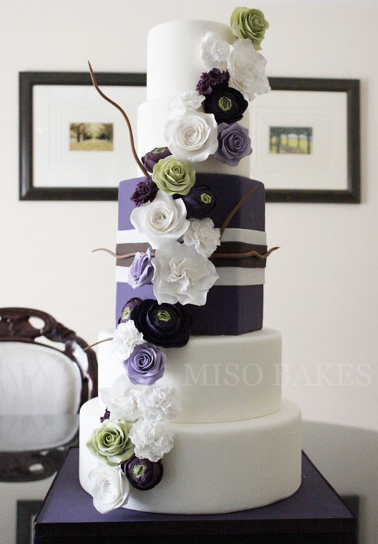 Elegant Sugar Flowers | by Miso Bakes