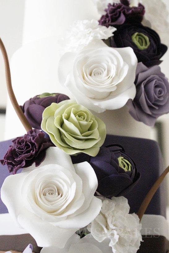 Elegant Sugar Flowers | by Miso Bakes