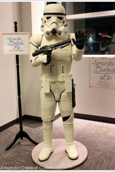 Life-Size Stormtrooper Cake