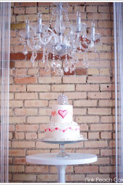 Happy Heart Day Cake