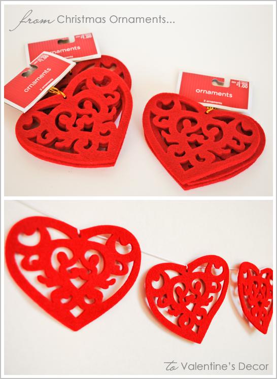 Valentine's Felt Heart Garland DIY