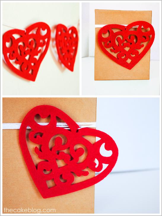 Valentine's Felt Heart DIY