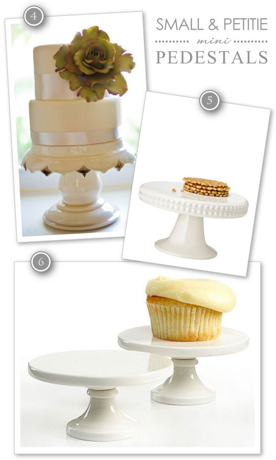 Mini Cupcake Pedestals