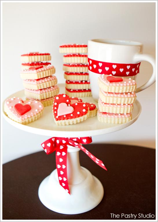 Heart Valentine's Cookies