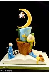 Nursery Rhyme 1st Birthday Cake