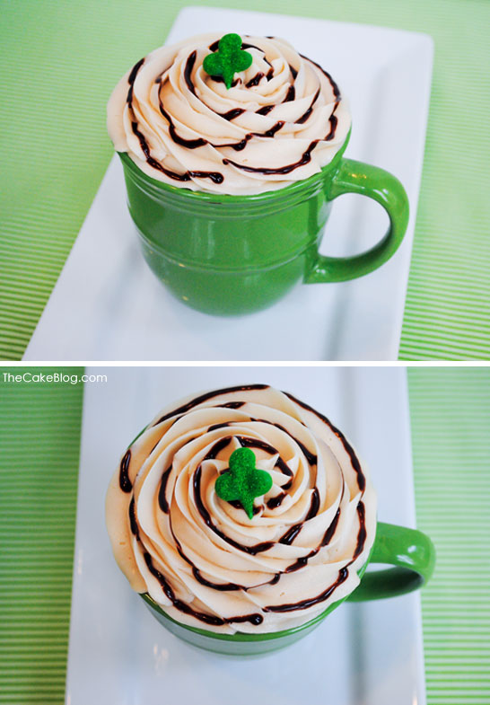 'Irish Coffee' Cupcake Recipe  |  TheCakeBlog.com